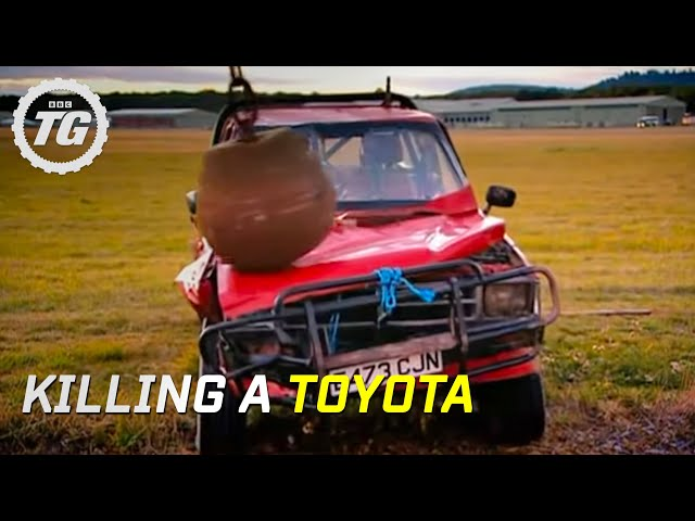 killing a toyota part 1 top gear bbc youtube killing a toyota part 1 top gear