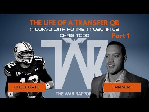 Part 1 The Life of a Transfer Quarterback: Chris Todd