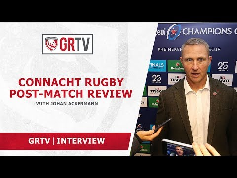 Ackermann pleased that the hard work of the players paid off against Connacht