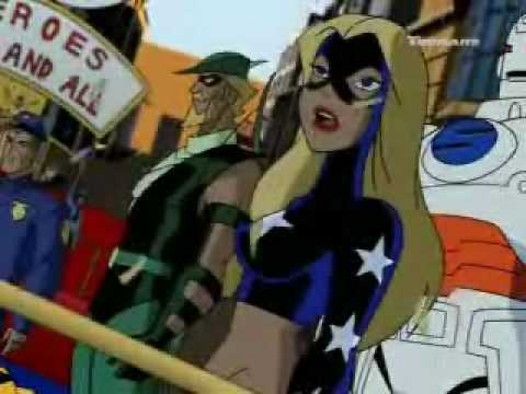 Stargirl on Justice League Unlimited