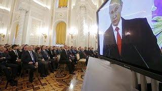 Россия ищет друзей  послание Путина Федеральному Собранию