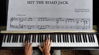 Hit the road Jack - Ray Charles | Piano Tutorial