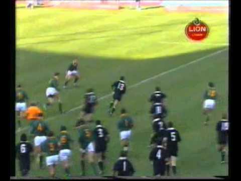 John Kirwan's try - 1992 return match