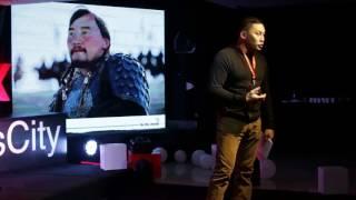Film is the wind of change | Amarsaikhan Baljinnyam | TEDxChinggisCity