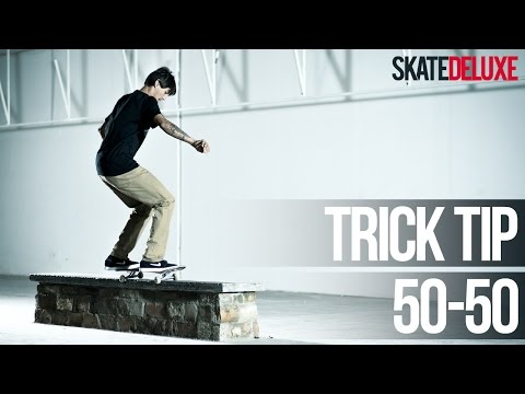 50-50 Grind (FS & BS) | Consejos para trucos de skate | Español/Spanish | skatedeluxe