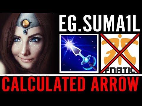 Suma1L to 90%% Arrow SHUT DOWN FNATIC – EG DOTA 2 PRO