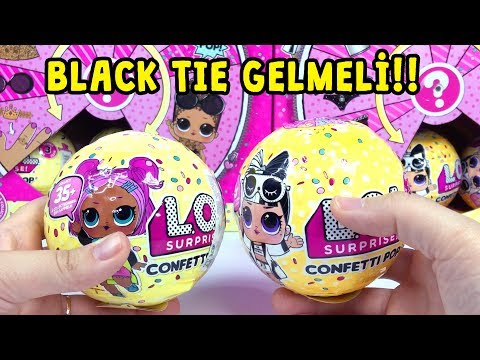 LOL Confetti POP Wave 2 VS Wave 1! Black Tie Gelmeli!