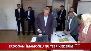 """Cumhurbaşkanı Erdoğan: """"İmamoğlu'nu Tebrik Ederim"""""""