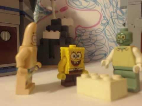 Lego Spongebob the snowball effect