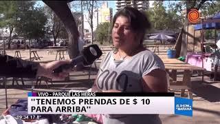 La feria del Parque Las Heras