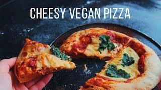 Cheesy Vegan Pizza Recipe!