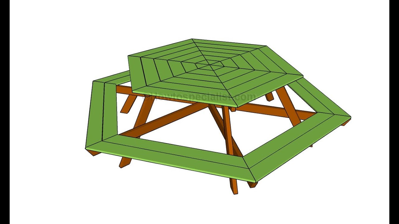 How to build a hexagon table youtube how to build a hexagon table watchthetrailerfo