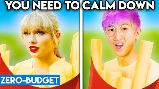 Baixar TAYLOR SWIFT WITH ZERO BUDGET! (You Need To Calm Down PARODY)
