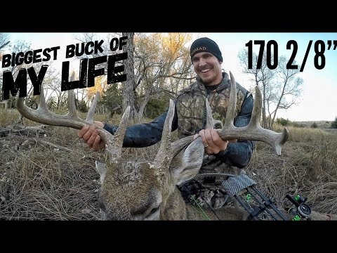 Josh Bow Hunts A Monster Kansas Buck In Rut!| Bowmar Bowhunting |