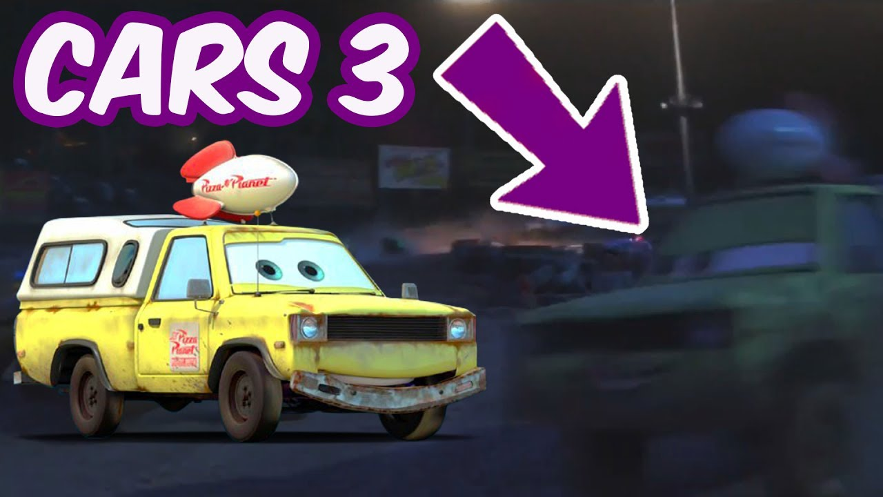 Secretos De Cars 3 Camioneta Pizza Planet Youtube