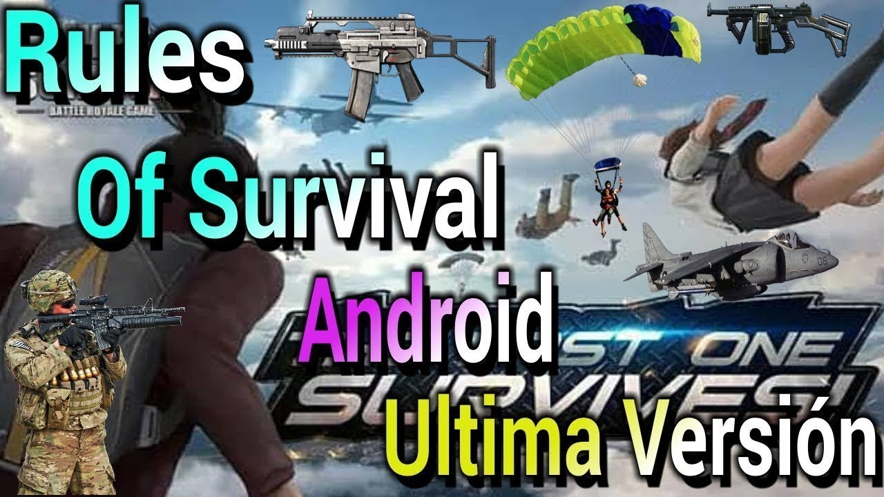 Nueva actualizacion 7 de febrero kills pro rules of - Rules of survival wallpaper android ...