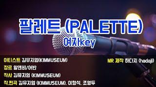 [하다지노래방] 김뮤지엄 - 팔레트 (Piano ver…