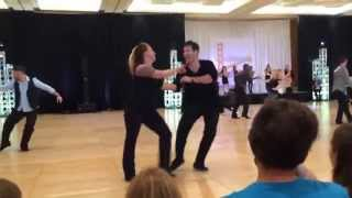 Maxence Martin and Tatiana Mollman Boogie by the Bay 2014 Strictly Swing Prelims