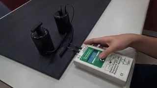 抗靜電電阻值測試影片