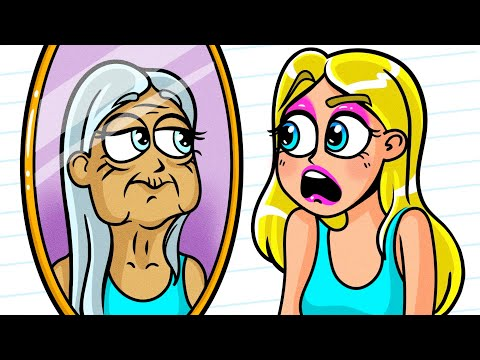 Barbara And The Secret Of Eternal Youth   Girls Problems And Beauty Hack Fail By Avocado Family