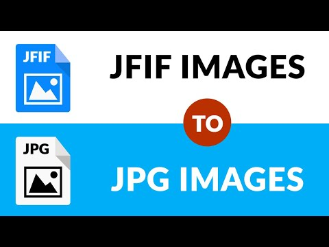🏆✔ How To Convert JFIF File To JPG Image In Bulk 🏆✔