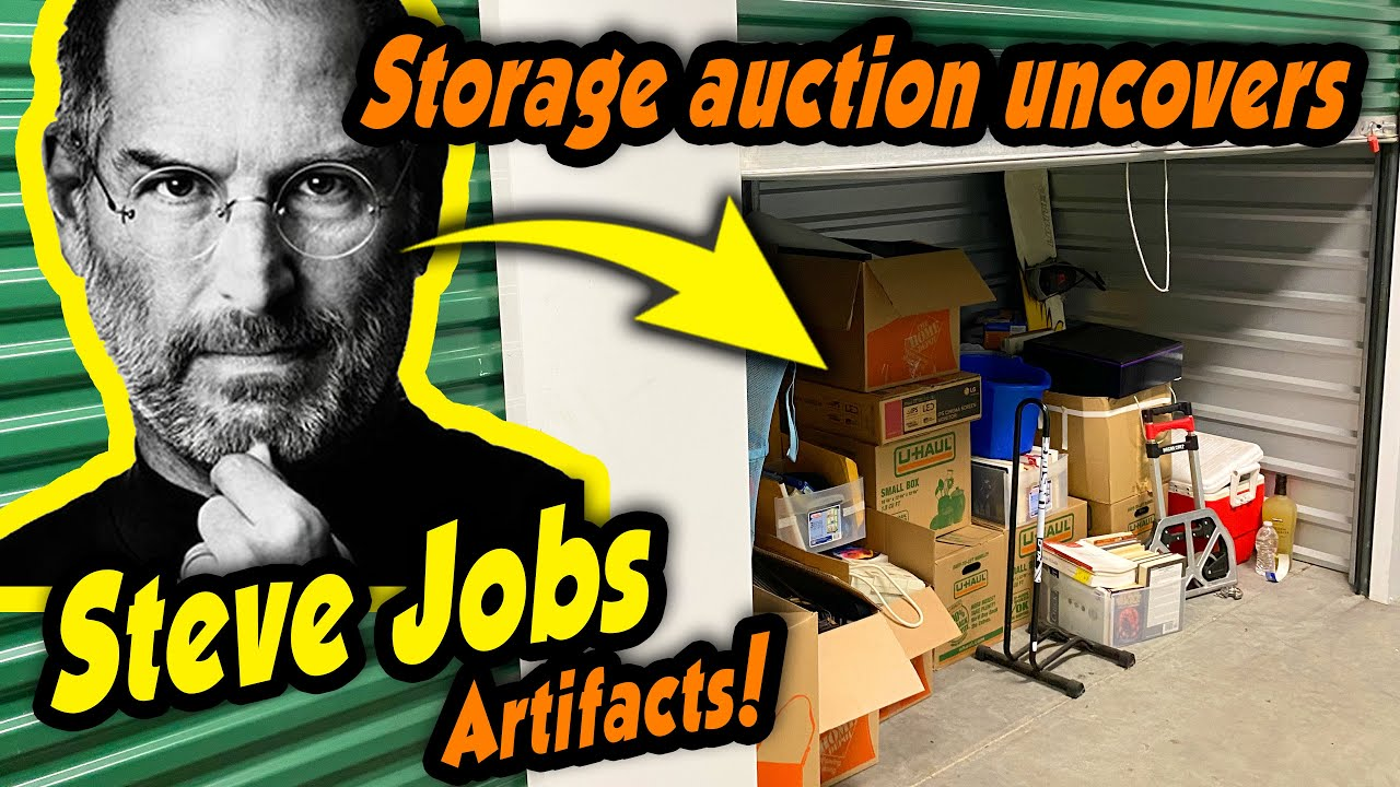 STEVE JOBS legacy artifacts uncovered after storage locker is sold at auction! What did we find?