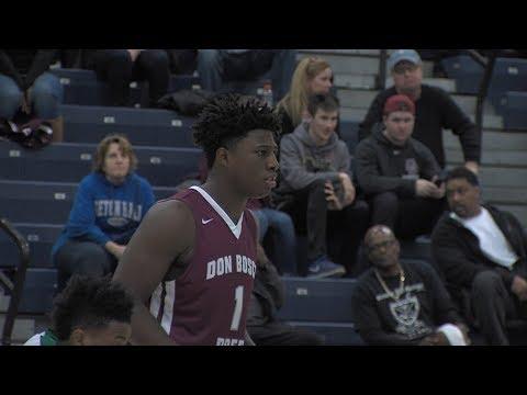Don Bosco Prep 61 Camden Catholic 54 | Non Public A Final | M.  Earlington 24 pts 12 rebounds