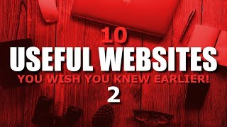 10 Useful Websites You Wish You Knew Earlier! 2
