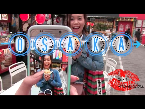 Food diary: 3 Days in Osaka [JAPAN] Travel Vlog #28