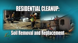DTSC Residential Cleanup: Soil Removal and Replacement Feb 19, 2016