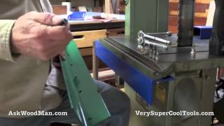 2 Of 3: Bandsaw Guide Rail Installation -- Diy Biesemeyer Style Guide Rail Series