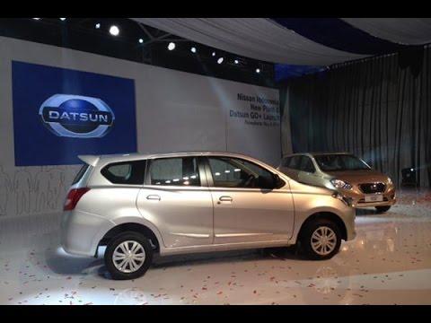 The New 2016 Datsun Go+ Panca Interior Exterior Walk ...