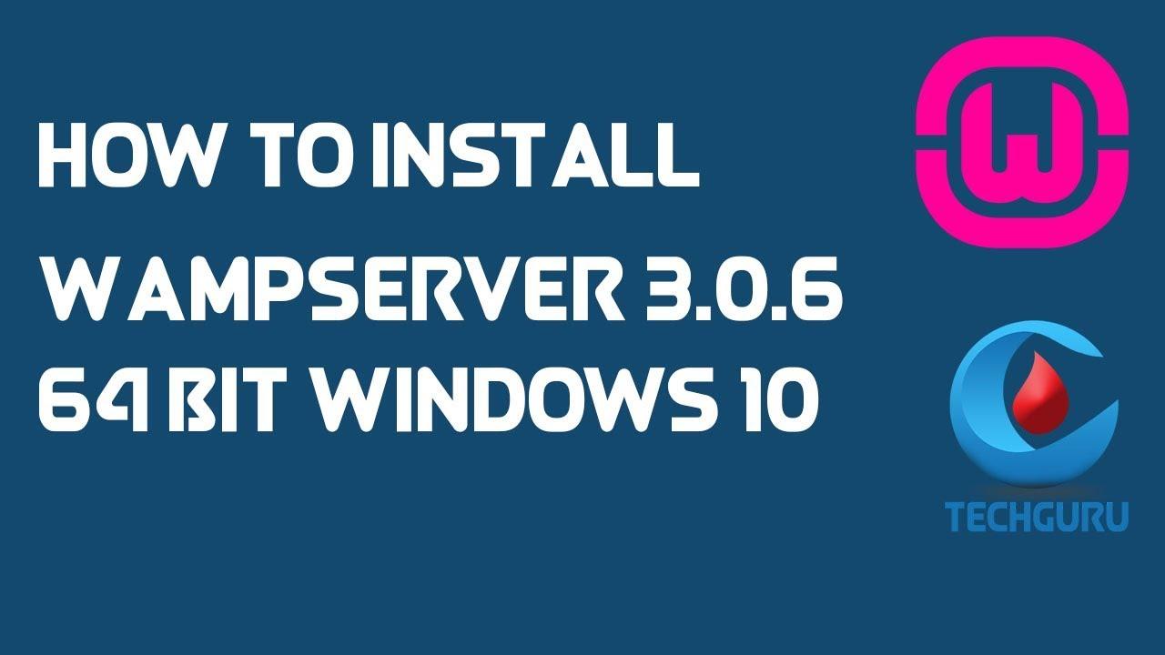 wampserver 3.0.6 64 bits