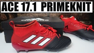 Adidas ace 17.1 primeknit (red limit pack) review + play test