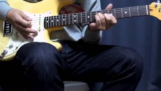 ZOOM G3のルーパー機能を使って、バックにアルペジオを弾いて練習しまし...