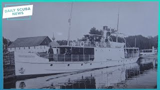 Scuba Divers Have Found 160 Year Old Steamship | Daily Scuba News (w/ Alannah)