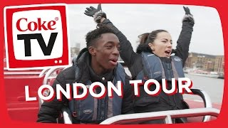Manny's Tour of London | #CokeTVMoment