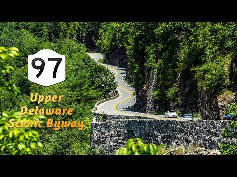 NY Route 97 Southbound   Upper Delaware Scenic Byway
