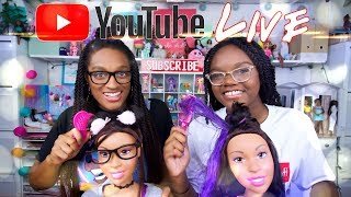 Video YouTube LIVE with The Froggy's | Q&A | Fan Mail | Barbie Hair Styling download MP3, 3GP, MP4, WEBM, AVI, FLV Agustus 2018