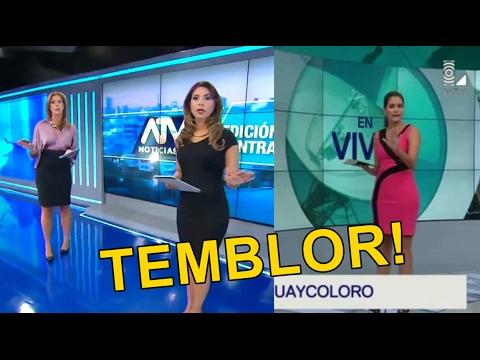Temblor en Lima de 4.2 ML en vivo 01/02/2017 - ATV Noticias & 90 Noche.