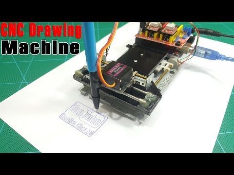 How to Make a CNC Drawing Machine at home