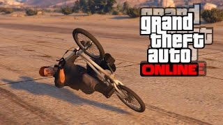 GTA 5 ONLINE: [TUTO] COMMENT SLIDE EN BMX