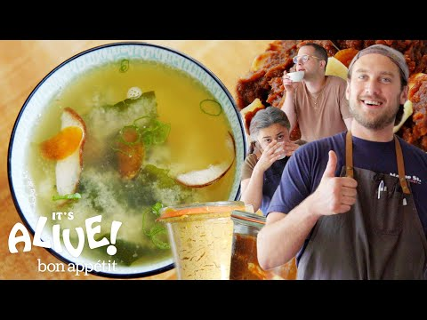 Brad Makes Garlic Miso | It's Alive | Bon Appétit