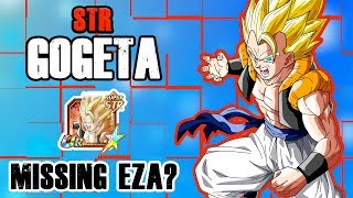 ITS TIME FOR STR GOGETA TO SHINE   THE UNIT MOST DESERVING A EZA   DRAGON BALL Z DOKKAN BATTLE