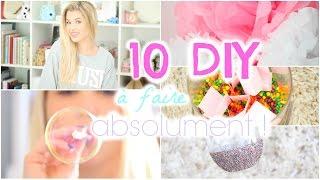 [ DIY n°6 ] : 10 DIY à faire ABSOLUMENT ! thumbnail