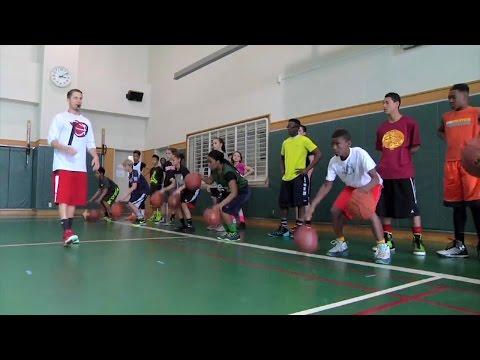 Kids From Yokosuka Hang Out With A NBA Shooting Coach