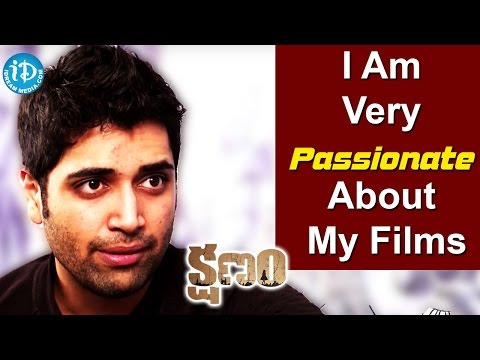 I Am Very Passionate About My Films - Adivi Sesh    Kshanam    Talking Movies With iDream