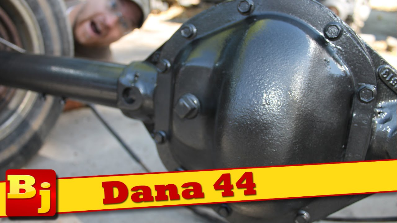 Project Tetanus gets a DANA 44 rear end