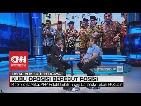 Median: Lebih Menguntungkan Prabowo Pilih Cawapres Demokrat Dibanding PKS