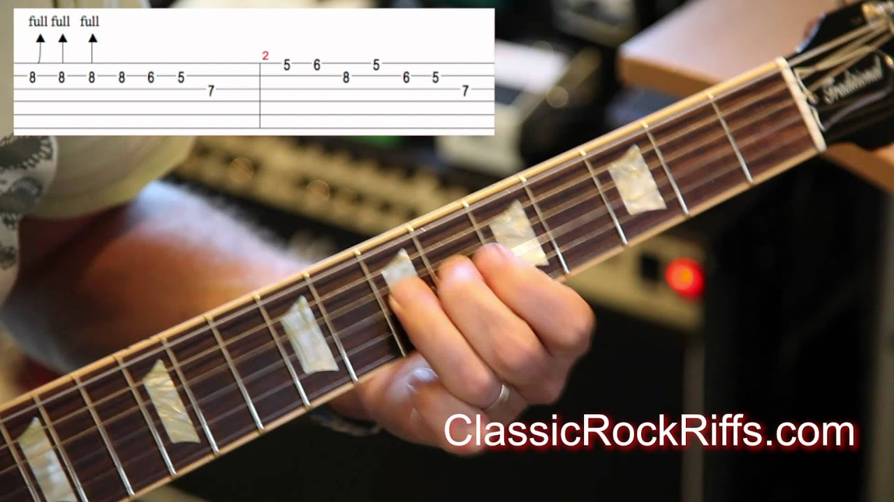 Queen Killer Queen Guitar Solo TAB YouTube - Musical history guitar solo